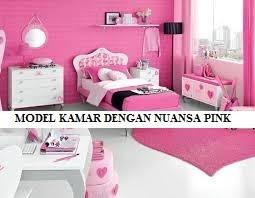 Model Kamar dengan Nuansa Pink